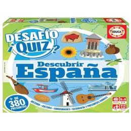 DESAFIO QUIZ DESCUBRIR ESPAÑA
