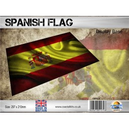 SPANISH FLAG - BASE DIORAMA