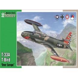1:32 T-33A T-BIRD OVER EUROPE