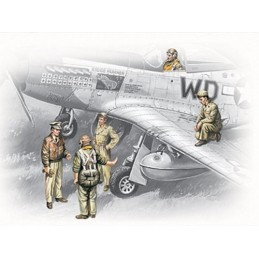1:48 USAAF PILOTS AND...