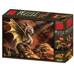 PUZZLE 3D Age of Dragons...