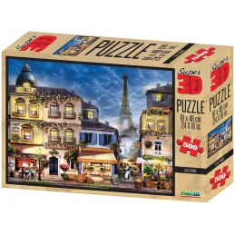 PUZZLE 3D OLD PARIS 500 Pzas.