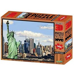 PUZZLE 3D STATUE OF LIBERTY...