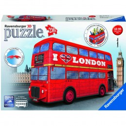 LONDON BUS 3D PUZZLE 216 Pzas