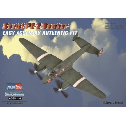 1:72 SOVIET PE-2 BOMBER