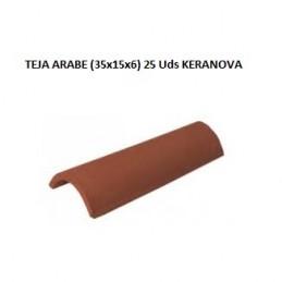 TEJA ARABE 37X15X6 25UD.