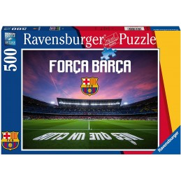 PUZZLE 500 AT FC BARCELONA