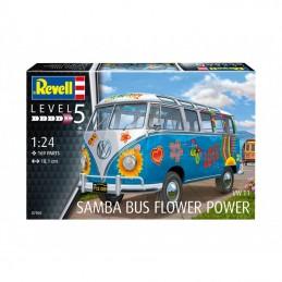 1:24 WWT1 SAMBA BUS FLOWER...