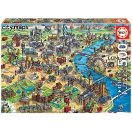 PUZZLE 500 MAPA DE LONDRES