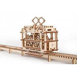 MODEL TRAM WITH RAILS UGEARS