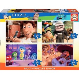 PUZZLE MULTI 4 JUNIOR PIXAR