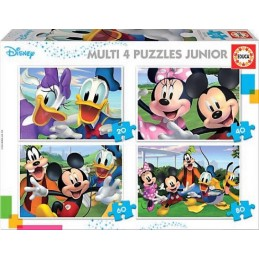 PUZZLE MULTI 4 JUNIOR MICKEY