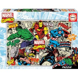 PUZZLE 1000 MARVEL COMICS