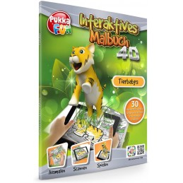 LIBRO INTERACTIVO 4D TIGRES