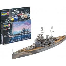 1:1200 HMS King GEORGE V...