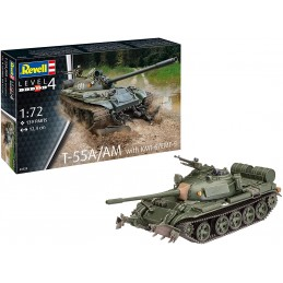 1:72  T55A/AM WITH KMT-6/...
