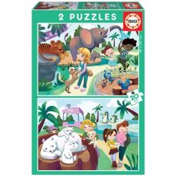 PUZZLE 2x20 EN EL ZOO