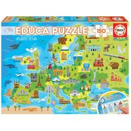 PUZZLE 150 MAPADE EUROPA
