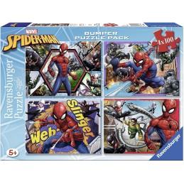 PUZZLE 4X100 SPIDER-MAN