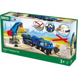 BRIO POLICE TRANSPORT SET