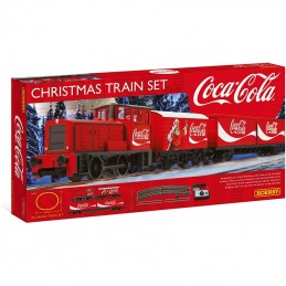 00 CHISTMAS TRAIN SET COCA...