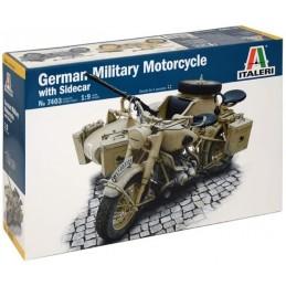 1:9 GERMAN MILITARY MOTORCYCLE