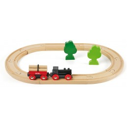 BRIO LITTLE FOREST TRAIN SET