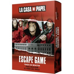 LA CASA DE PAPEL ESCAPE...