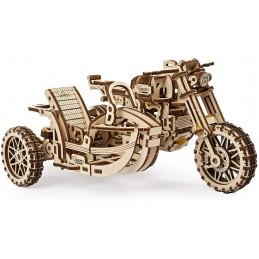 MODEL MOTO CON SIDECAR UGEARS