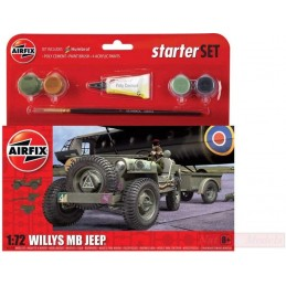 1:72 WILLYS MB JEEP