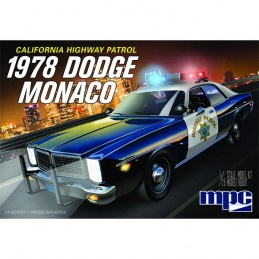 1:25 DODGE COCHE POLICIA...