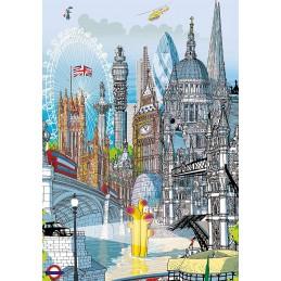 PUZZLE 200 LONDON CITY