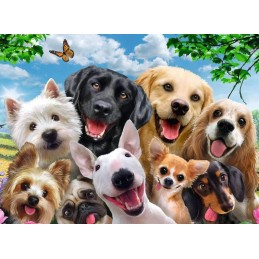 PUZZLE 300XXL PERROS AMABLES