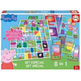 SET 8 EN 1 PEPPA PIG