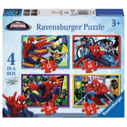PUZZLE PROGRESIVO SPIDERMAN