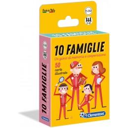 DIEZ FAMILIAS - JUEGO DE MESA