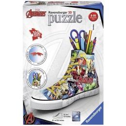 PUZZLE 3D SNEAKER MARVEL 108P