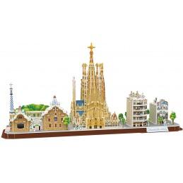 CITY BARCELONA - PUZZLE 3D