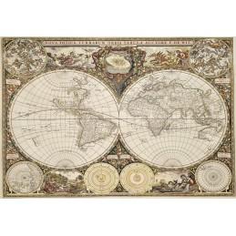 PUZZLE 300 ANTIQUE WORLD MAP L