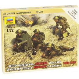 1:72 BRITISH MACHINE-GUN...