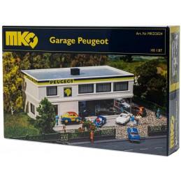 H0 GARAGE PEUGEOT